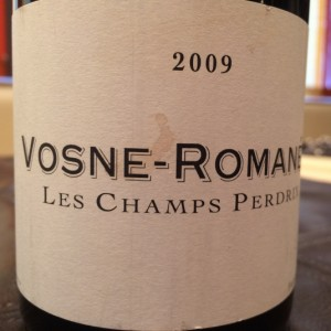 Frederic Cossard Vosne Romanee Les Champs Perdrix 2009
